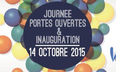 Save the date : Journée Portes ouvertes et inauguration !