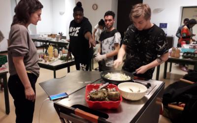 Ateliers Cuisine en partenariat avec la Banque Alimentaire de la Haute-Vienne